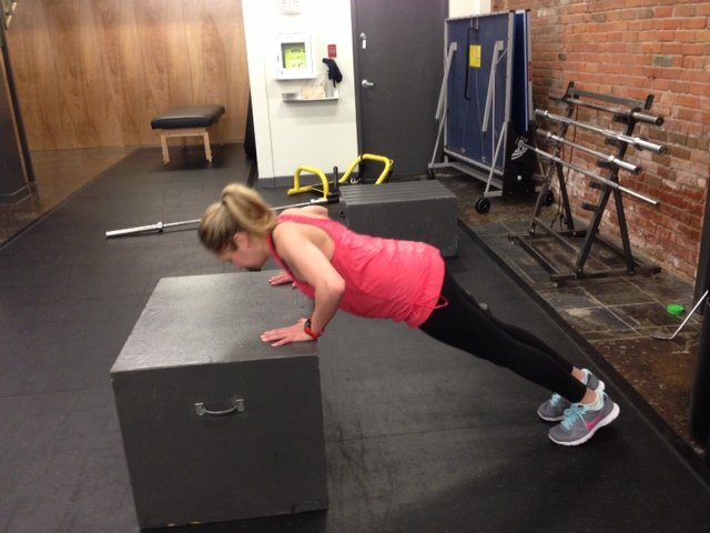 Emily pushup