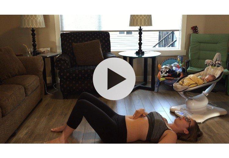 Postpartum Diastasis Recti Assessment #3