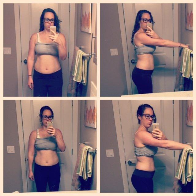 3 weeks versus 12 weeks postpartum