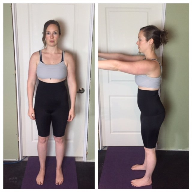 Postpartum Core Recovery Shorts