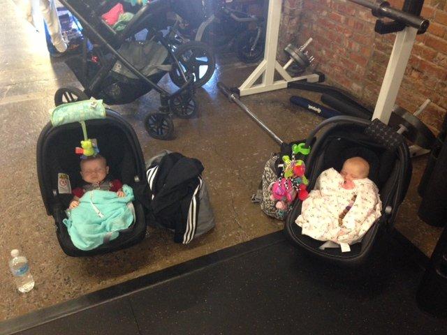 postnatal babies sleeping