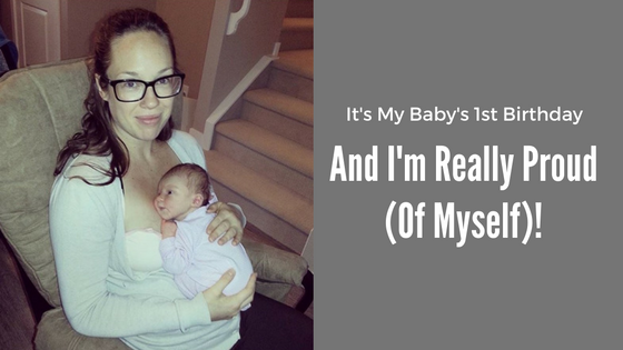 It's My Baby's First Birthday Blog Title