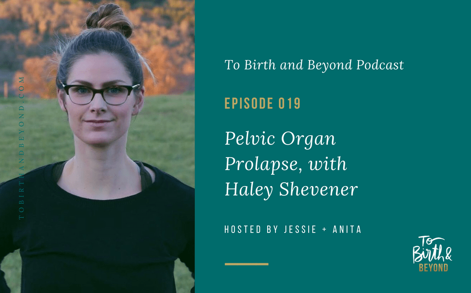 [PODCAST] Pelvic Organ Prolapse with Haley Shevener