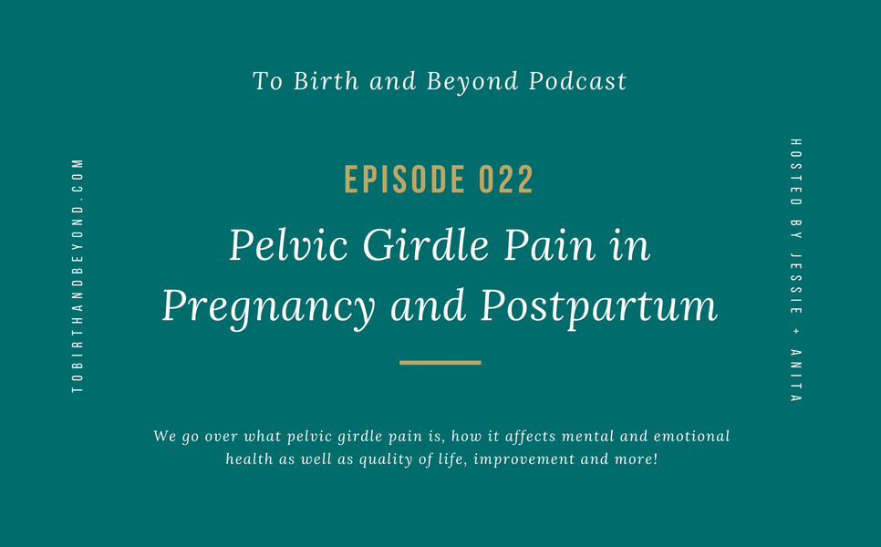 [PODCAST] Pelvic Girdle Pain in Pregnancy and Postpartum