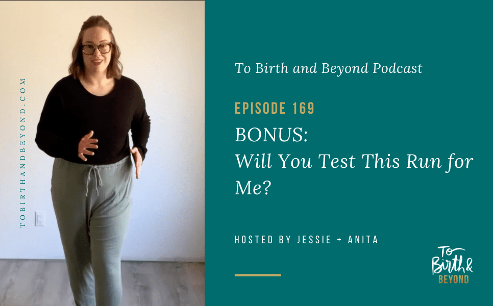 [PODCAST] BONUS Episode: Will You Test This Run for Me?